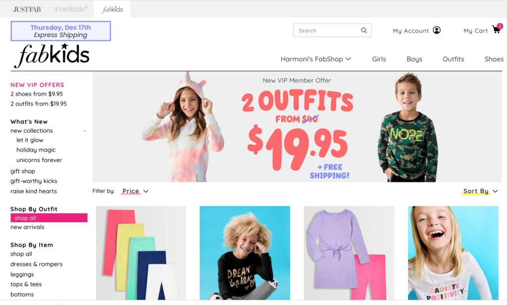 FabKids.com - Outfits that kids want to wear for less! Kids