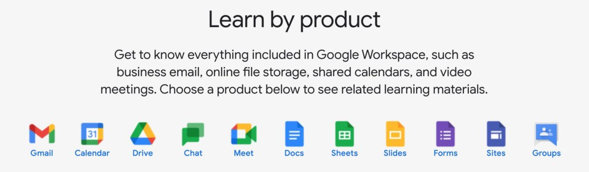 Learn More @ Google